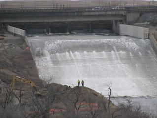 Boundary Dam Spillway