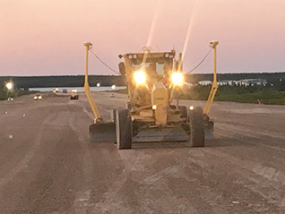 Points North Landing Runway Rehab